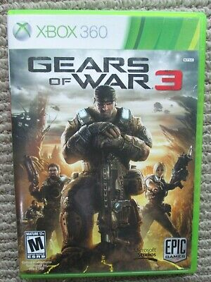 $5.99 • Buy XBOX 360 - GEARS OF WAR 3 - Rated Mature 17+  **FAST SHIPPING**