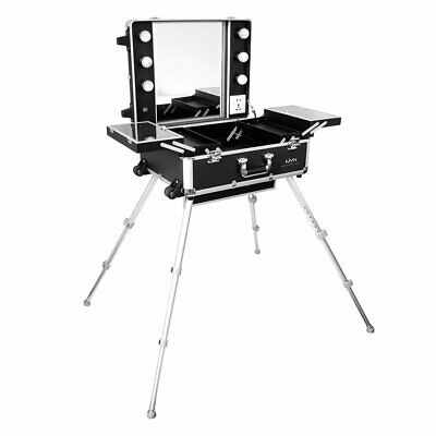 $400 • Buy NYX Professional Makeup Makeup Artist Train Case With Lights, Extra Large Black