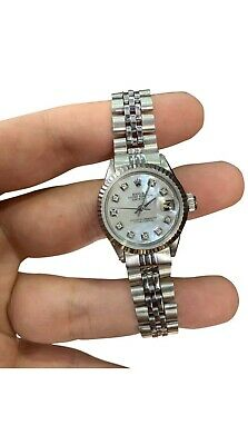 $ CDN3647.28 • Buy Ladies Rolex Oyster Perpetual Datejust Watch 6917 Stainless Steel 26mm MOP