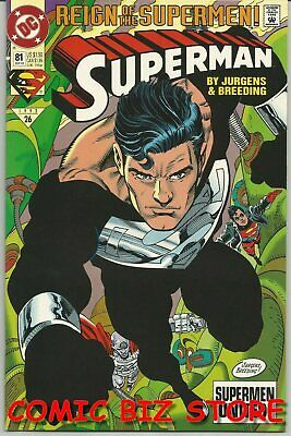 Superman #81 (1993) 1st Printing Bagged & Boarded Dc Comics • 2.50£