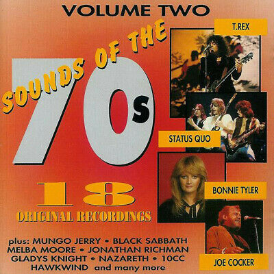 Various - Sounds Of The 70s (4xCD, Comp) • 6.69£