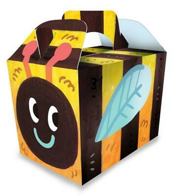 £3.89 • Buy 10 X Bumble Bee - Party Boxes - Children Bag Loot - Treat Lunch Food Gift Box