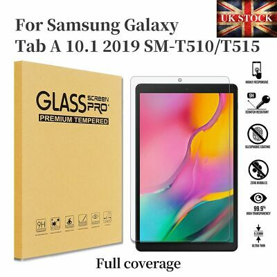 £3.88 • Buy Tempered Glass Screen Protector For Samsung Galaxy Tab A 10.1 2019 T510 T515
