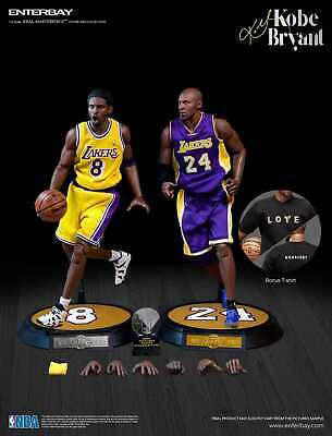 $550 • Buy 【In-Stock】 NBA Enterbay Kobe Bryant Lakers Upgrade Dual 1/6 Action Figures
