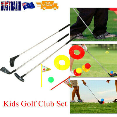 AU19.55 • Buy Kids Golf  Set Practice Children Putter Outdoor Play Game Educational Toy