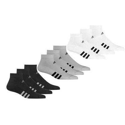 AU25.95 • Buy Adidas Golf Mens Ankle Sports Gym Running Socks - Pack Of 3