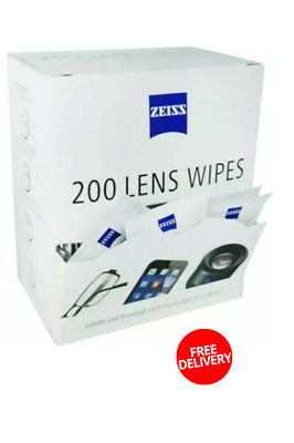 £6.89 • Buy Zeiss Pre Moist Lens Wipes Optical Glasses Cleaning Phone Screen Camera 1-600