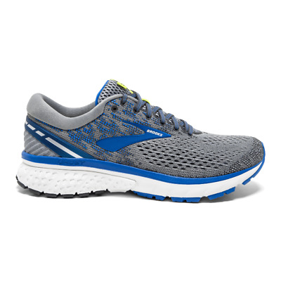 AU159.05 • Buy Brooks Ghost 11 Running Shoes, Men Sizes 12 Extra Wide (2E) Grey/Blue/Silver NEW