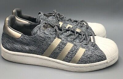 $ CDN33.80 • Buy Adidas Superstar PK Boost Primeknit Gray White Shoes Mens Size 9.5 8973