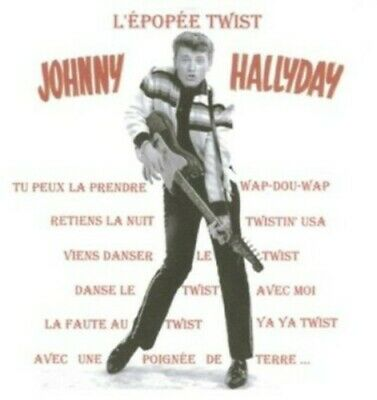 AU23.46 • Buy Johnny Hallyday - L'epopee Twist [New CD] France - Import