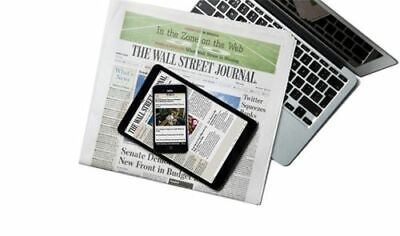 $106.93 • Buy Wall Street Journal Subscription Print & Digital 1 Year WSJ STARTS IN 5 DAYS