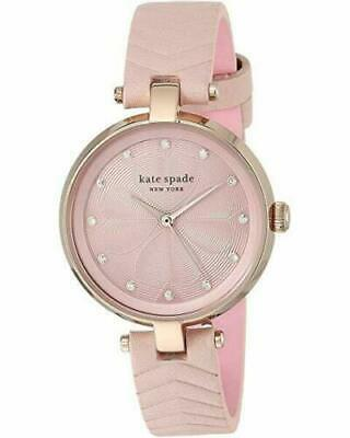$ CDN81.40 • Buy Kate Spade KSW1545 Women's Annadale Vellum Quilted Leather Strap Watch 30mm