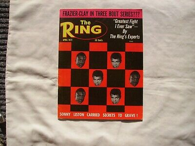 $7.99 • Buy The Ring Magazine April 1971