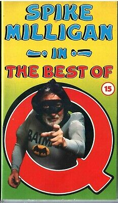 SPIKE MILLIGAN IN BEST OF Q - VHS TAPE - 1970s COMEDY -15 CERT • 14.99£