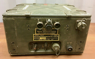 $154.95 • Buy Vintage Signal Corps US Army Military Radio Receiver BC-1335 TM-11-879 WWII