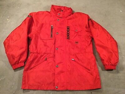 $32.24 • Buy DESCENTE Men's Ski Jacket Light Coat Red Size L EXCELLENT USED CONDa