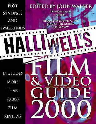 Halliwell's Film And Video Guide 2000 By , Good Used Book (Paperback) FREE & FAS • 3.05£
