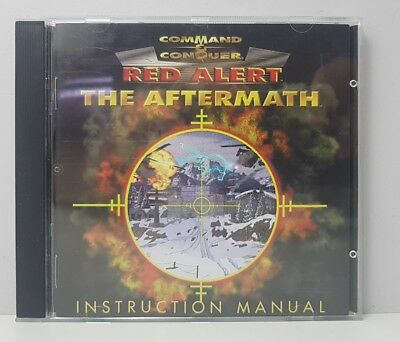 AU12.99 • Buy Command & Conquer - Red Alert The Aftermath Add-On Game PC FREE TRACKED POSTAGE