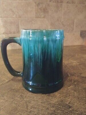 $ CDN10 • Buy Large Blue Mountain Pottery Mug Green/Black Variation In Colour