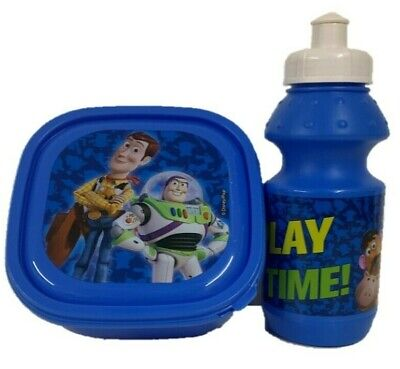 Toy Story Lunch Box & Sipper Bottle Gift Set Sports Disney Character School Kids • 10.92£