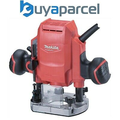 Makita MT Series M3601 240v Electric Plunge Router 900w 8mm 1/4  3/8  • 67.25£