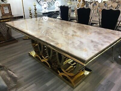Luxury Italian Dining Table New 200 Cm  Or Larger CALL 0208 951 5382 • 1,100£
