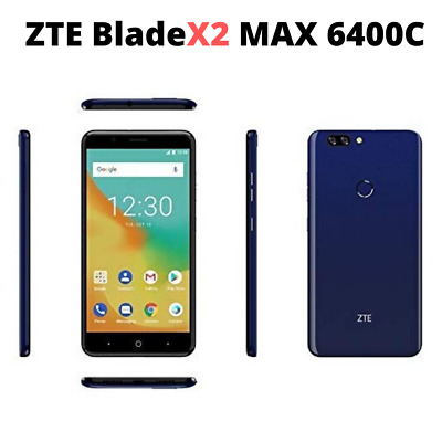 $115.99 • Buy ZTE BLADE X2 MAX 6400C Unlocked GSM Phone 6.0  Screen Octa-Core 1.4GHZ 2GB RAM