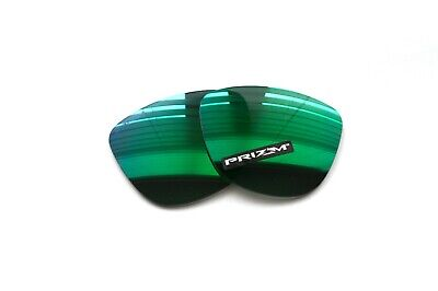 $49.49 • Buy Oakley Frogskins Prizm Jade Replacement Lenses *authentic* Rare Green