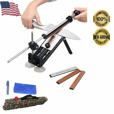 $17.99 • Buy Knife Sharpener Kitchen Sharpening Tools Sword System Fix-angle+4 Stone III US