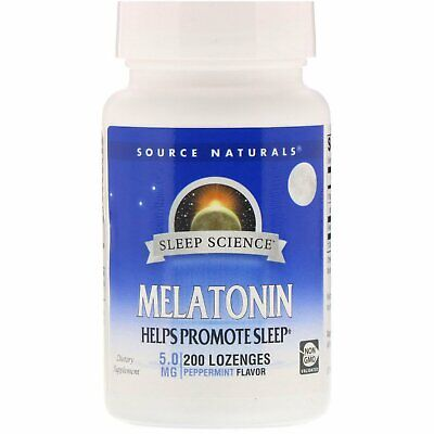 $ CDN48.40 • Buy Melatonin, Peppermint, 5 Mg, 200 Lozenges