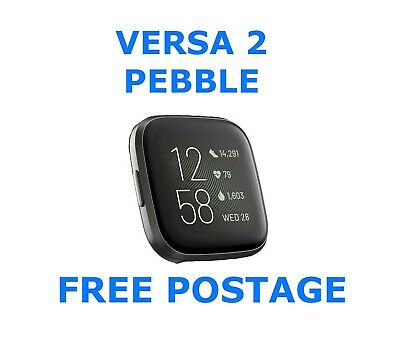 View Details Fitbit Versa 2 Pebble, New, Black , Needs Charger And Strap. Free Postage • 50.00£