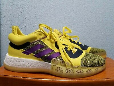 $ CDN56.39 • Buy Adidas Marquee Boost Low G27743  Man Yellow Shoes Size 14 Brand  New