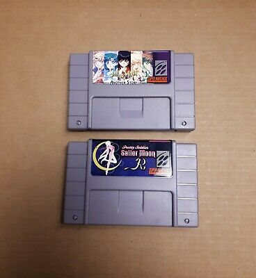 $ CDN59.99 • Buy Lot Of 2 SNES Nintendo Sailor Moon Repro Games Pretty Soldier Another Story