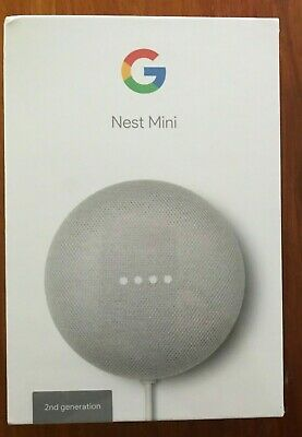 AU79 • Buy Google Nest Mini (2nd Generation) Smart Speaker - Chalk