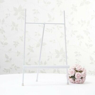White Easel For Artwork Wedding Table Plan Stand • 28.99£