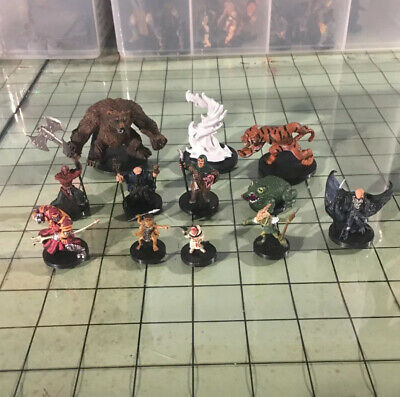 AU51.65 • Buy Lot Of 12 Dungeons & Dragons Minis - Mixed Series - No Cards