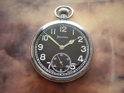 WW2 British Army, GS / TP Pocket Watch In Very Good Condition.  • 47£