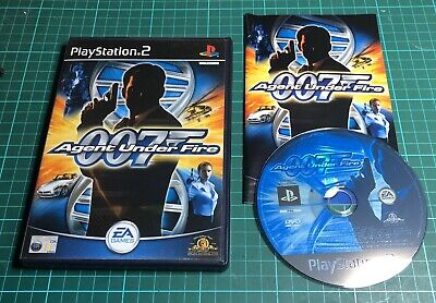 007 Agent Under Fire For Sony Playstation 2, PS2 • 3.99£