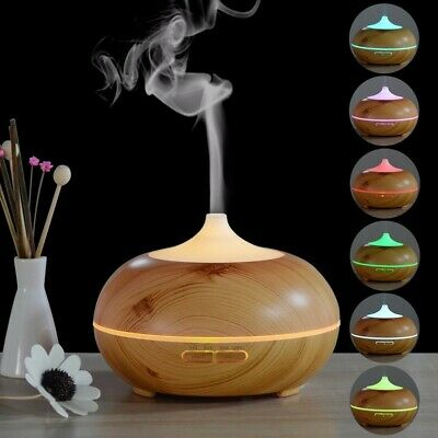 AU26.99 • Buy Essential Oil Aroma Diffuser Ultrasonic Humidifier Aromatherapy LED Purifier NEW