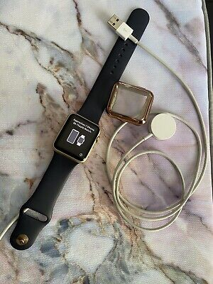 $ CDN95 • Buy Apple Watch Series 1 42mm Gold With Original Navy Band