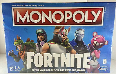 $12.99 • Buy Hasbro Gaming Monopoly Fortnite Board Game, Fast-dealing Property Trading Game
