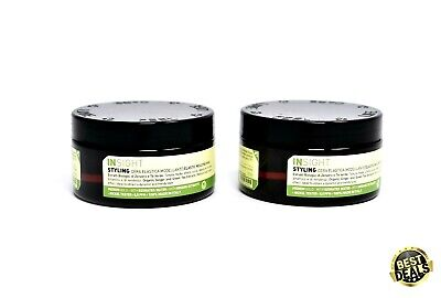 (2X) INSIGHT PROFESSIONAL Organic Molding Hair Wax Elastic-90ml • 19£