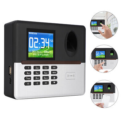 2.8in LCD WIFI Fingerprint Password Time Clock Office Attendance Machine 125KHZ • 79.94£