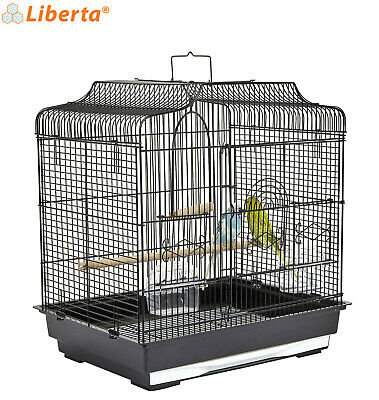 £39.99 • Buy Liberta Black Siam Metal Cage Budgie Canary Finch Cage Genuine Quality Made