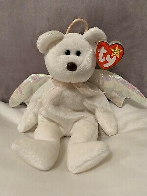 **HALO TY BEANIE BABY** Stamped Tush Tag 467 & Rare Brown Nose !! • 300£