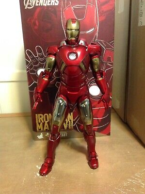 $ CDN443 • Buy Hot Toys Iron Man Avengers Mark VII 7 DIECAST Marvel 1/6 Scale Action Figure