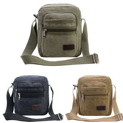 AU17.90 • Buy Mens Women Utility Cross Body Messenger Shoulder BAG Travel Pouch Handbag Wallet