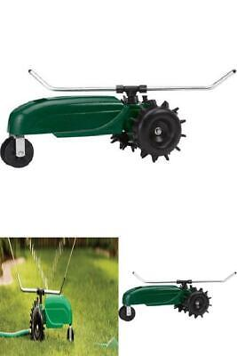 AU132.28 • Buy Traveling Train Lawn Sprinkler Tractor Whirling Spray Arms 13500 Sq Ft Coverage