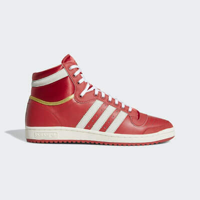 $ CDN78.94 • Buy New Adidas Men's Originals Top Ten High Shoes (EF6368)  Glory Red//Gold Metallic