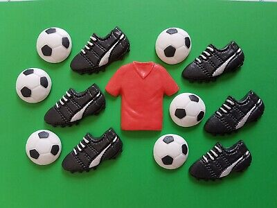 Edible Football Cake Topper Decorations For Liverpool Fans. • 5.45£